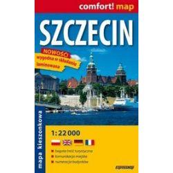 Szczecin - kieszonkowy Plan Miasta w skali 1:22 000