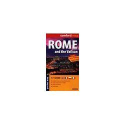 Rzym i Watykan mapa laminowana 1:20 000