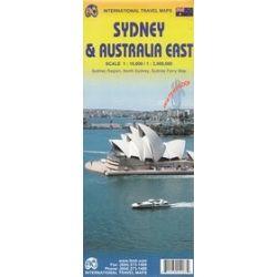 Sydney i wschodnie wybrzeże Australii mapa 1:10 000/ 1:35 00 000 ITMB