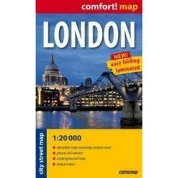 Londyn kieszonkowy plan miasta 1:20 000