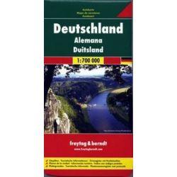 Niemcy mapa 1:700 000 Freytag & Berndt
