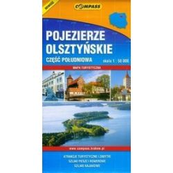 Pojezierze olsztyńskie część południowa skala 1:50000