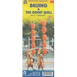 Pekin i Wielki Mur Chiński mapa 1:23 000 / 1:280 000 ITMB