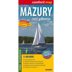 Mazury - część północna - laminowana mapa turystyczna 1:60 000