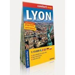 Lyon 1:15 000 - laminowany plan miasta wersja kieszonkowa