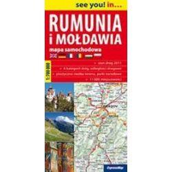 Rumunia i Mołdawia - mapa samochodowa 1:700 000