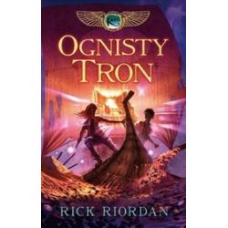 Kroniki Rodu Kane, tom 2. Ognisty tron - Rick Riordan