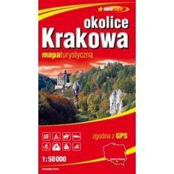 Okolice Krakowa 1:50 000 - mapa turystyczna w skali 1:50 000