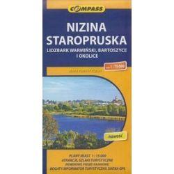 Nizina Staropruska Lidzbark Warmiński Bartoszyce i okolice mapa 1:75 000 Compass