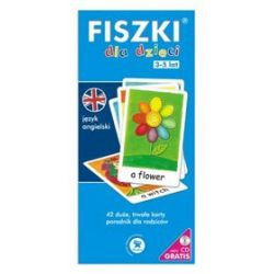 Fiszki. Język angielski - Dla dzieci - Patrycja Wojsyk