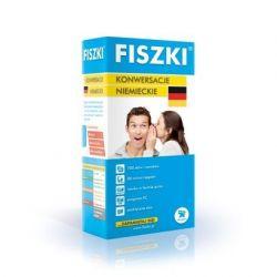 Fiszki. Język niemiecki - Konwersacje - Kinga Perczyńska
