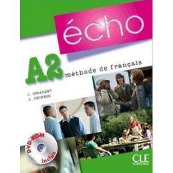 Język francuski. Echo A2 - podręcznik (+ DVD), szkoła średnia - J. Girardet