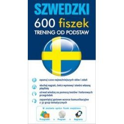 Szwedzki 600 fiszek. Trening od podstaw
