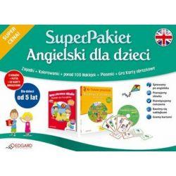 SuperPakiet Angielski dla dzieci od 5 lat