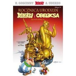 Asteriks. Rocznica urodzin Asteriksa i Obeliksa, Złota księga - tom 34 - Albert Uderzo