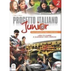 Jezyk włoski, Progetto Italiano junior 2 - podręcznik, gimnazjum