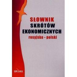 Rosyjsko-polski słownik skrótów ekonomicznych - Piotr Kapusta