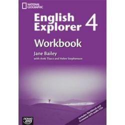 Język angielski, English Explorer - ćwiczenia, część 4, gimnazjum
