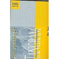 Język niemiecki. Tangram 1b - Vokabelheft, szkła średnia