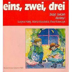 Język niemiecki, eins, zwei, drei - ćwiczenia, klasa 1, szkoła podstawowa - Lucyna Halej, Marta Kozubska, Ewa Krawczyk