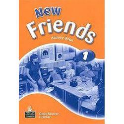 Język angielski. New Friends 1 - ćwiczenia, klasa 4-6, szkoła podstawowa - Carol Skinner