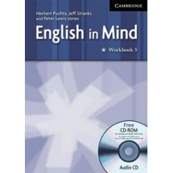 Język angielski. English in Mind 5 Workbook with Audio CD/CD-ROM, gimnazjum - Peter Lewis-Jones, Herbert Puchta, Jeffrey Stranks