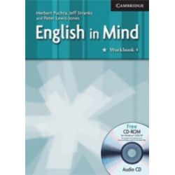 Język angielski. English in Mind 4 Workbook with Audio CD/CD-ROM, gimnazjum - Peter Lewis-Jones, Herbert Puchta, Jeffrey Stranks