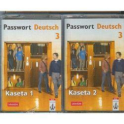 Język niemiecki, Passwort Duetsch - 2 kasety klasa 3 liceum (kaseta)