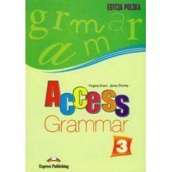 Język angielski, Access 3. Grammar - podręcznik, gimnazjum - Jenny Dooley, Virginia Evans