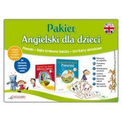 Pakiet - Angielski dla dzieci (Królewna Śnieżka + Karty Obrazkowe)