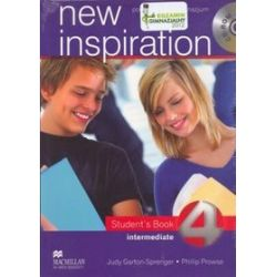 Język angielski. New inspiration, Intermediate - podręcznik, część 4, gimnazjum - Judy Garton-Sprenger, Philip Prowse