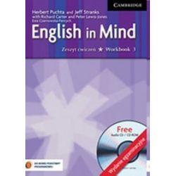 Język angielski. English in Mind 3 - ćwiczenia, gimnazjum