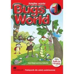 Język angielski. Bugs World 1 - podręcznik, klasa 1, szkoła podstawowa - Carol Read, Ana Soberon