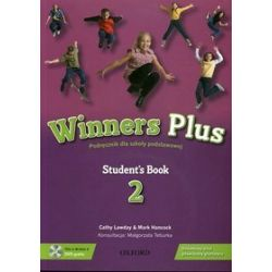 Język angielski, Winners Plus 2 - podręcznik, klasa 5, szkoła podstawowa (książka + DVD) - Mark Hancock, Cathy Lawday