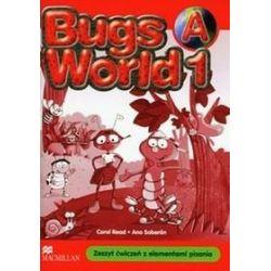 Język angielski, Bugs World 1A - ćwiczenia, klasa 1, szkoła podstawowa - Carol Read, Ana Soberon