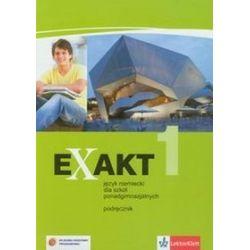 Język niemiecki, Exakt 1 - podręcznik, klasa 1, szkoła ponadgimnazjalna