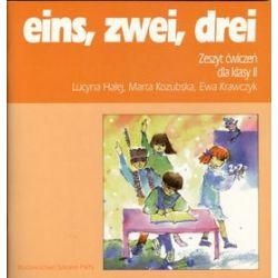 Język niemiecki, eins, zwei, drei - ćwiczenia, klasa 2, szkoła podstawowa - Lucyna Halej, Marta Kozubska, Ewa Krawczyk