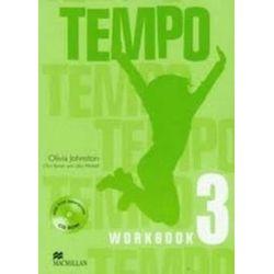 Język angielski. Tempo 3. Workbook + CD, klasa 4-6, szkoła podstawowa - Olivia Johnston