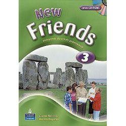 Język angielski. New Friends 3 - podręcznik + CD, klasa 4-6, szkoła podstawowa