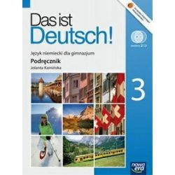 Język niemiecki. Das ist Deutsch! - podręcznik, klasa 3, gimnazjum - Jolanta Kamińska