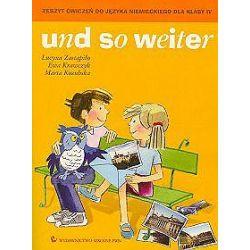 Język niemiecki, Und so weiter - zeszyt ćwiczeń, klasa 4, szkoła podstawowa - Lucyna Zastąpiło