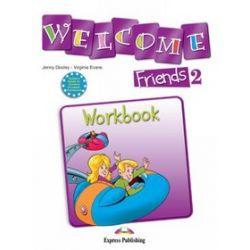 Język angielski. Welcome friends 2, Workbook, klasa 4-6, szkoła podstawowa