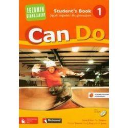 Język angielski. Can Do 1, Egzamin gimnazjalny - podręcznik, część 1, gimnazjum