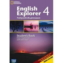Język angielski, English Explorer - podręcznik, część 4, klasa 1-3, gimnazjum (+ MultiROM) - Helen Stephenson, Arek Tkacz