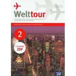 Język niemiecki. Welttour - podręcznik z ćwiczeniami, część 2, szkoła ponadgimnazjalna - Sylwia Mróz