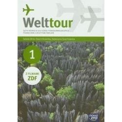 Język niemiecki. Welttour - podręcznik z ćwiczeniami, część 1, szkoła ponadgimnazjalna