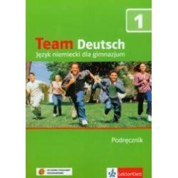 Język niemiecki. Team Deutsch 1 - podręcznik z płytą CD-audio dla ucznia, gimnazjum