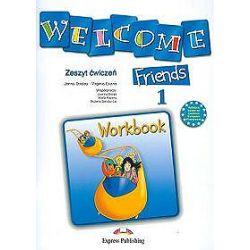 Język angielski. Welcome Friends 1.Workbook, klasa 4-6, szkoła podstawowa - Jenny Dooley, Virginia Evans