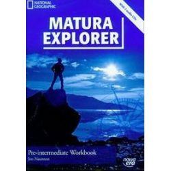 Język angielski. Matura Explorer Pre-intermediate - zeszyt ćwiczeń, klasa 2, szkoła średnia