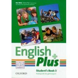 Jezyk angielski. English Plus 3 - podręcznik, gimnazjum - Danuta Gryca, Diana Pye, Ben Wetz